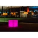 Scaun Taburet CUBY S SMALL cu sistem de iluminare RGB
