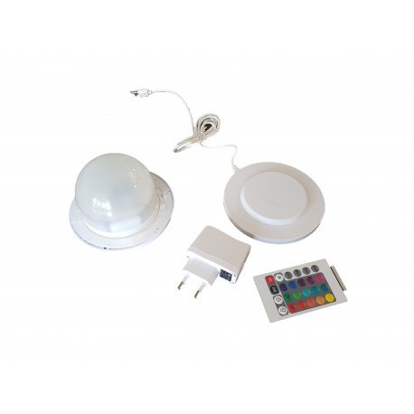 LAMPA LED RGB