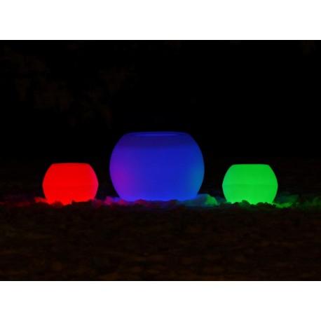 Masa ROLLY M LARGE natur cu sistem de iluminare RGB